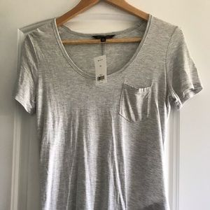 NWT Banana Republic gray shirt- xsmall